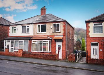 Thumbnail 3 bed semi-detached house for sale in Waterton Lane, Mossley