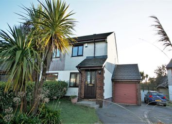 Thumbnail 2 bed semi-detached house to rent in Penhale Gardens, Fraddon, St. Columb