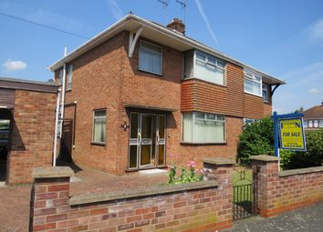 Thumbnail 3 bed semi-detached bungalow for sale in Desborough Avenue, Peterborough