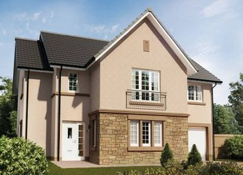 "Thumbnail 4 bed detached house for sale in ""The Cleland"" at Roman Road, Balfron, Glasgow"