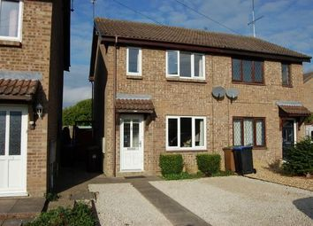 Thumbnail 2 bed semi-detached house for sale in Spencer Road, Long Buckby, Northampton
