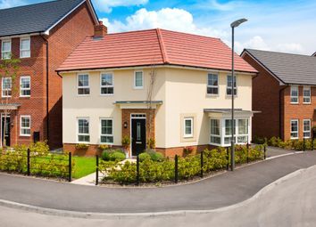 "Thumbnail 3 bedroom detached house for sale in ""Faringdon I"" at Queens Drive, Nantwich"