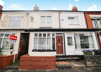 Thumbnail 2 bed terraced house for sale in Reginald Road, Bearwood, Smethwick