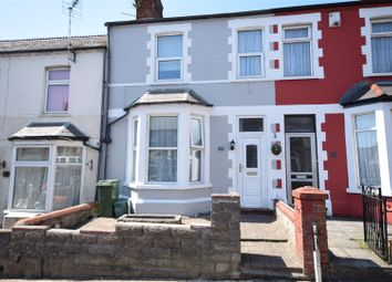 Thumbnail 3 bed terraced house for sale in Hannah Street, Barry