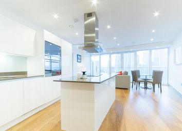 Thumbnail 2 bed flat to rent in Arena Tower, 25 Crossharbour Plaza, Canary Wharf, London