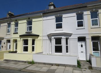 Thumbnail 2 bed flat for sale in Cromwell Road, Plymouth