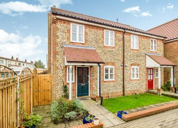 Thumbnail 3 bed semi-detached house for sale in Baker Street, Stalham, Norwich