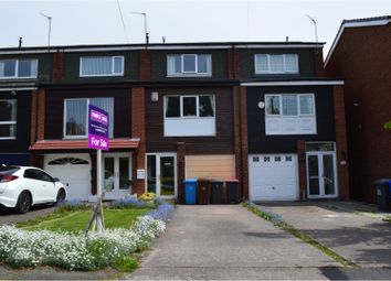 Thumbnail 3 bed town house for sale in Vendale Avenue, Manchester
