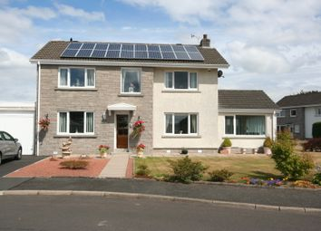 Thumbnail 3 bed detached house for sale in Ewart Drive, Dumfries
