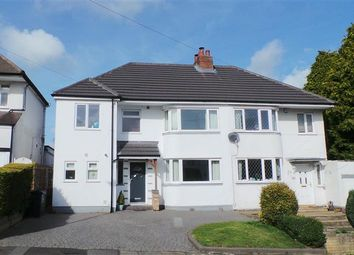 Thumbnail 4 bed semi-detached house for sale in Clarence Gardens, Four Oaks, Sutton Coldfield