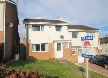 Thumbnail 3 bed semi-detached house for sale in Chichester Crescent, Saltash