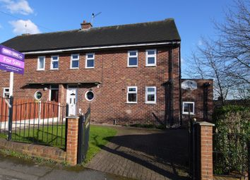 Thumbnail 3 bed semi-detached house for sale in Hall Close Avenue, Whiston, Rotherham