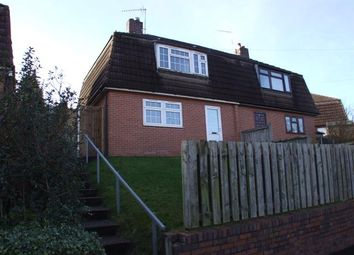 Thumbnail 3 bedroom semi-detached house to rent in Bath Road, Silverdale, Newcastle