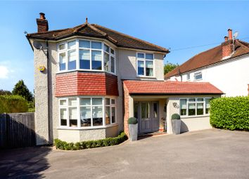 Thumbnail 4 bed detached house for sale in Cheam Road, Epsom, Surrey