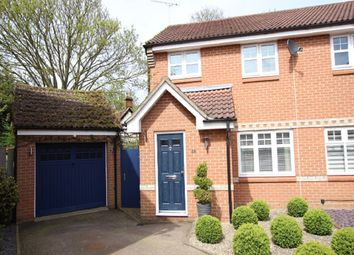 Thumbnail 3 bed semi-detached house for sale in Hood Drive, Great Blakenham, Ipswich, Suffolk