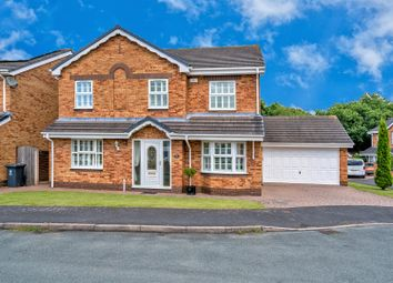 Thumbnail 4 bed detached house for sale in Gilpins Croft, Cheslyn Hay, Walsall