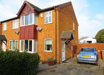 Thumbnail 3 bed semi-detached house for sale in Pinfold Close, Osbournby, Sleaford