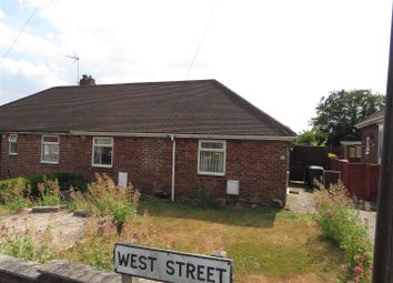 Thumbnail 2 bed semi-detached bungalow for sale in West Street, Creswell, Worksop