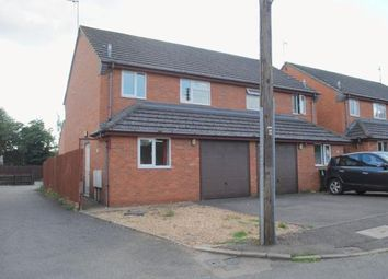 Thumbnail 3 bed semi-detached house for sale in Spinney Road, Irthlingborough
