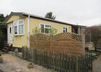 Thumbnail 1 bed mobile/park home for sale in Silent Woman Park, Moorshop, Tavistock, Devon, 9Lq