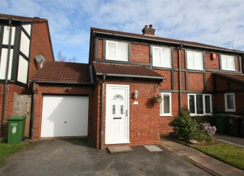 Thumbnail 3 bed semi-detached house for sale in Tilesford Close, Monkspath, Solihull