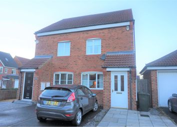 Thumbnail 3 bed semi-detached house for sale in The Limes, Newcastle Upon Tyne