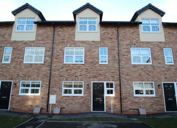 Thumbnail 4 bed town house to rent in Queens Court, Basford, Stoke-On-Trent