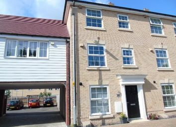 Thumbnail 4 bed town house for sale in Jubilee Crescent, Needham Market, Ipswich