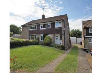 Thumbnail 3 bed semi-detached house for sale in Ripon Close, Gillingham