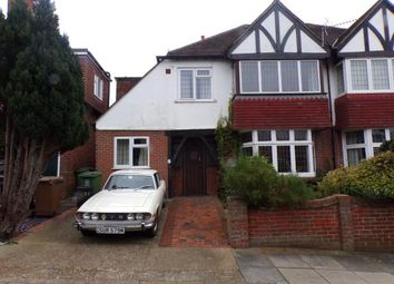 Thumbnail 4 bed semi-detached house for sale in Bernard Avenue, Cosham, Portsmouth