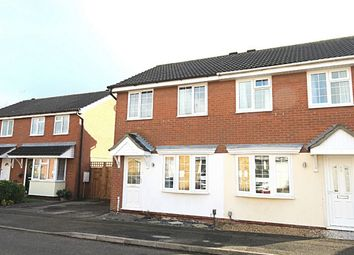 Thumbnail 2 bed semi-detached house for sale in Stukeley Meadows, Huntingdon, Cambridgeshire