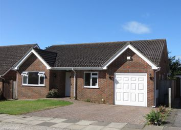 Thumbnail 3 bed detached bungalow for sale in Kingsmead, Seaford