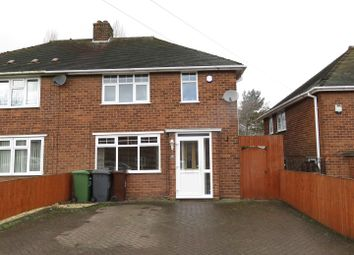 Thumbnail 2 bedroom semi-detached house for sale in Laburnum Road, Lanesfield, Wolverhampton