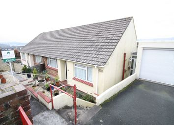 Thumbnail 2 bed semi-detached bungalow for sale in Princess Avenue, Plymstock, Plymouth