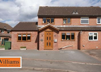 Thumbnail 4 bed semi-detached house for sale in Withybrook Close, Hereford