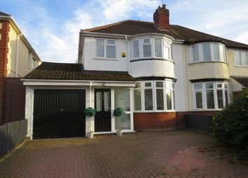 Thumbnail 3 bed semi-detached house for sale in Poplar Avenue, Wednesfield, Wolverhampton
