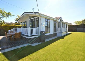 Thumbnail Mobile/park home for sale in Parc-An-Drea, Cury Cross Lanes, Helston, Cornwall