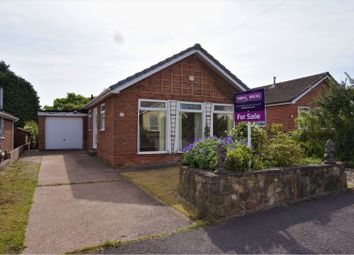 Thumbnail 3 bed detached bungalow for sale in Keats Avenue, Sutton-In-Ashfield