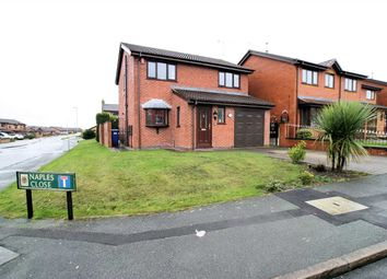 Thumbnail 4 bed detached house for sale in Naples Close, Meir Hay, Stoke On Trent