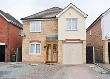 Thumbnail 4 bed detached house for sale in Spingate Close, Hornchurch