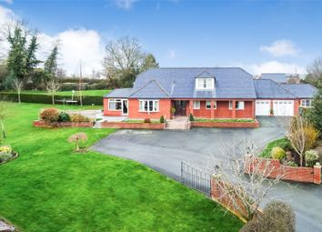 Thumbnail 4 bed detached house for sale in Cwm Lane, Forden, Welshpool, Powys