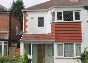 Thumbnail 2 bed semi-detached house to rent in Courtenay Road, Great Barr, Birmingham