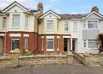 Thumbnail 3 bedroom terraced house for sale in Croft Road, Parkstone, Poole