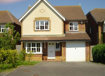 Thumbnail 4 bed detached house to rent in Manor Farm Close, Lympne, Hythe