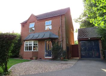 Thumbnail 3 bed detached house for sale in Bristol Way, Sleaford