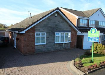 Thumbnail 2 bed bungalow for sale in Woodbury Road, Halesowen