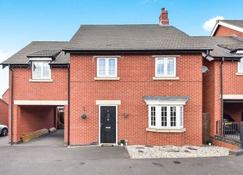 Thumbnail 4 bed detached house for sale in Paisley Walk, Church Gresley, Swadlincote