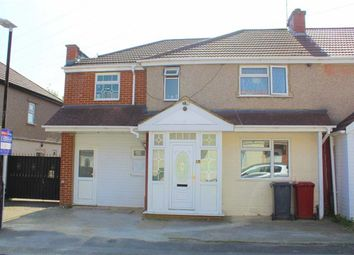 Thumbnail 5 bed semi-detached house for sale in Myrtle Crescent, Slough, Berkshire