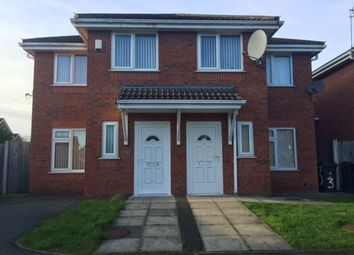 Thumbnail 3 bed semi-detached house to rent in Antons Court, Halewood