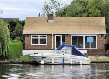 Thumbnail 4 bed detached bungalow for sale in The Island, Wraysbury, Berkshire